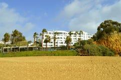 Albufeira Auramar Beach hotel stock images