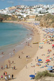 Albufeira Beach. Southern Portugal, Algarve, Albufeira town. Mediterranean climate Stock Image