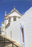 Albufeira church in algarve, Portugal. Stock Photo