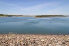 Albufeira da Barragem de Campilhas lake Stock Photos