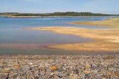Albufeira da Barragem de Campilhas lake Stock Photo