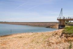 Albufeira da Barragem de Campilhas lake Stock Image