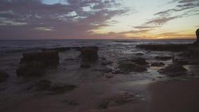 ALBUFEIRA - De Gagel van Praiada, Algarve, Portugal stock footage