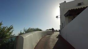 albufeira distrito de algarve faro portugal de abril de vista