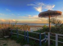 Albufeira - el Praia hace Alemão Imágenes de archivo libres de regalías