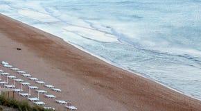Albufeira fishermen beach scenario (Praia dos pescadores, Algarv Stock Photography