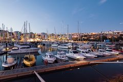 Albufeira Marina, Algarve, Portugal Stock Photography