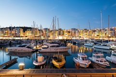 Albufeira Marina, Algarve, Portugal Stock Photo