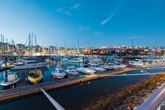 Albufeira Marina, Algarve, Portugalia Zdjęcia Royalty Free
