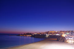 Albufeira at nightfall Stock Photos