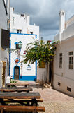Albufeira old town Stock Photos