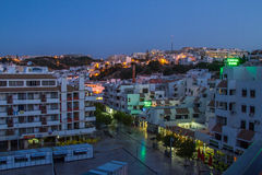 Albufeira Old Town Stock Photo
