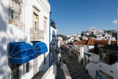 Old Town , Albufeira, Algarve, Portugal Stock Image