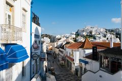 Old Town , Albufeira, Algarve, Portugal Royalty Free Stock Photos