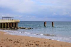 Albufeira praia dos pescadores stock photos