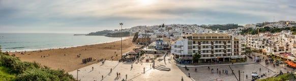 Albufeira Praia gör Pescadores arkivbilder