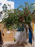 ALBUFEIRA, SÜDLICHES ALGARVE/PORTUGAL - 10. MÄRZ: Straßenbild I Lizenzfreie Stockbilder
