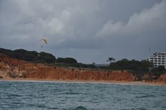 Albufeira sea side at Algarve!! Stock Photography
