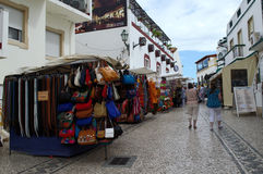 Albufeira, a shopping street 2 Royalty Free Stock Photography