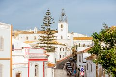 Albufeira town in Portugal Stock Photo