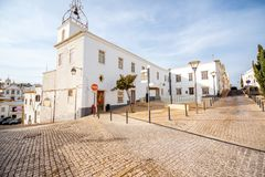 Albufeira town in Portugal Stock Images