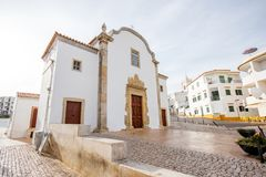 Albufeira town in Portugal Royalty Free Stock Photo