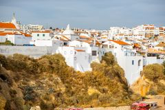 Albufeira town in Portugal Royalty Free Stock Photography