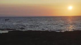 ALBUFEIRA - Vendaval de DA del Praia, Algarve, Portugal almacen de video