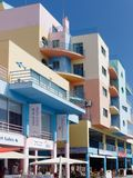 ALBUFEIRA, ZUIDELIJKE ALGARVE/PORTUGAL - 10 MAART: Kleurrijke Buil Stock Fotografie