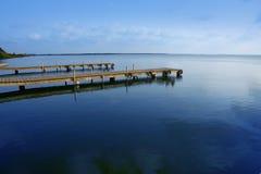 Albufera lake wetlands in Valencia Spain Stock Image