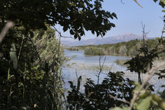 Albufera-Park in der Insel von Mallorca Stockfotografie