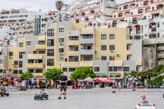 Albuferia Oude Stad, Portugal 4 Juni 2017 Stock Foto's