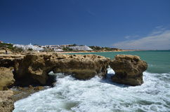 Albufiera, The Algarve, Portugal Royalty Free Stock Images