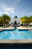 AlBukhari清真寺在吉打 免版税库存图片