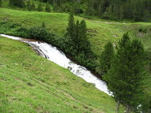 Albula Pass. One of the most beautifull places in Austria Stock Images