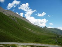 Albula Pass. One of the most beautifull places in Austria Stock Photos