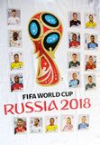 Album of cards, of the selections. Rio de Janeiro - Brazil,  - Launch of the album of cards, of the selections that will compete in the football world cup in Stock Photo