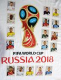 Album of cards, of the selections. Rio de Janeiro - Brazil, March 18, 2018 - Launch of the album of cards, of the selections that will compete in the football Stock Photography