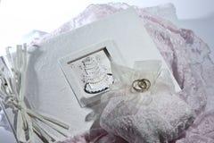 Album de mariage. Photographie stock libre de droits