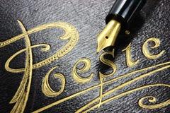 Album de poésie Image libre de droits