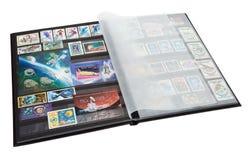Album dei francobolli Immagine Stock Libera da Diritti
