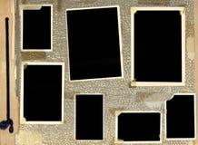Album di foto dell'annata Fotografia Stock Libera da Diritti