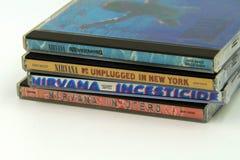 Album di nirvana fotografie stock libere da diritti