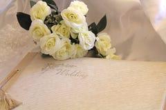 Album di nozze Fotografia Stock