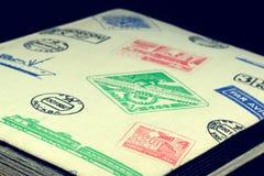 Album für Briefmarken Lizenzfreie Stockfotos