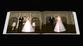 Album. Image of a album for wedding stock illustration