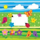 Album impostato - natura royalty illustrazione gratis