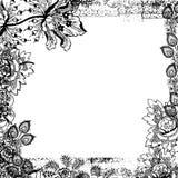 album kwiecisty tła rocznik royalty ilustracja