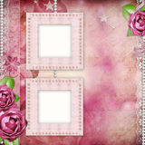 Album page Royalty Free Stock Photos