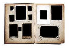 album pages fototappning arkivfoto